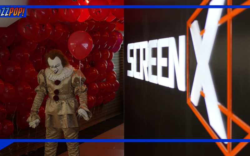 IT CHAPTER TWO Premiere at ScreenX Launching