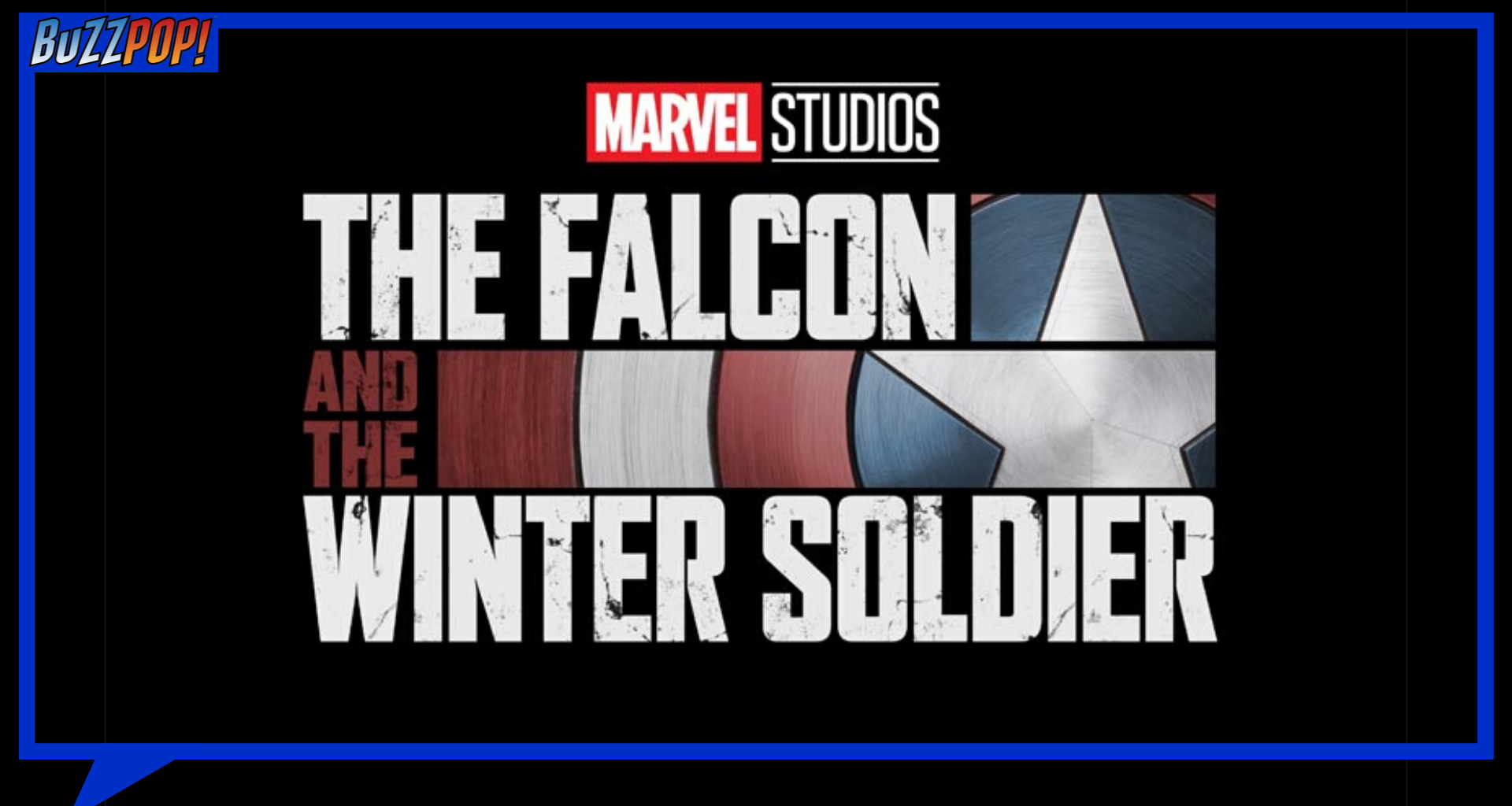 Logo siri TV Disney+ THE FALCON AND THE WINTER SOLDIER