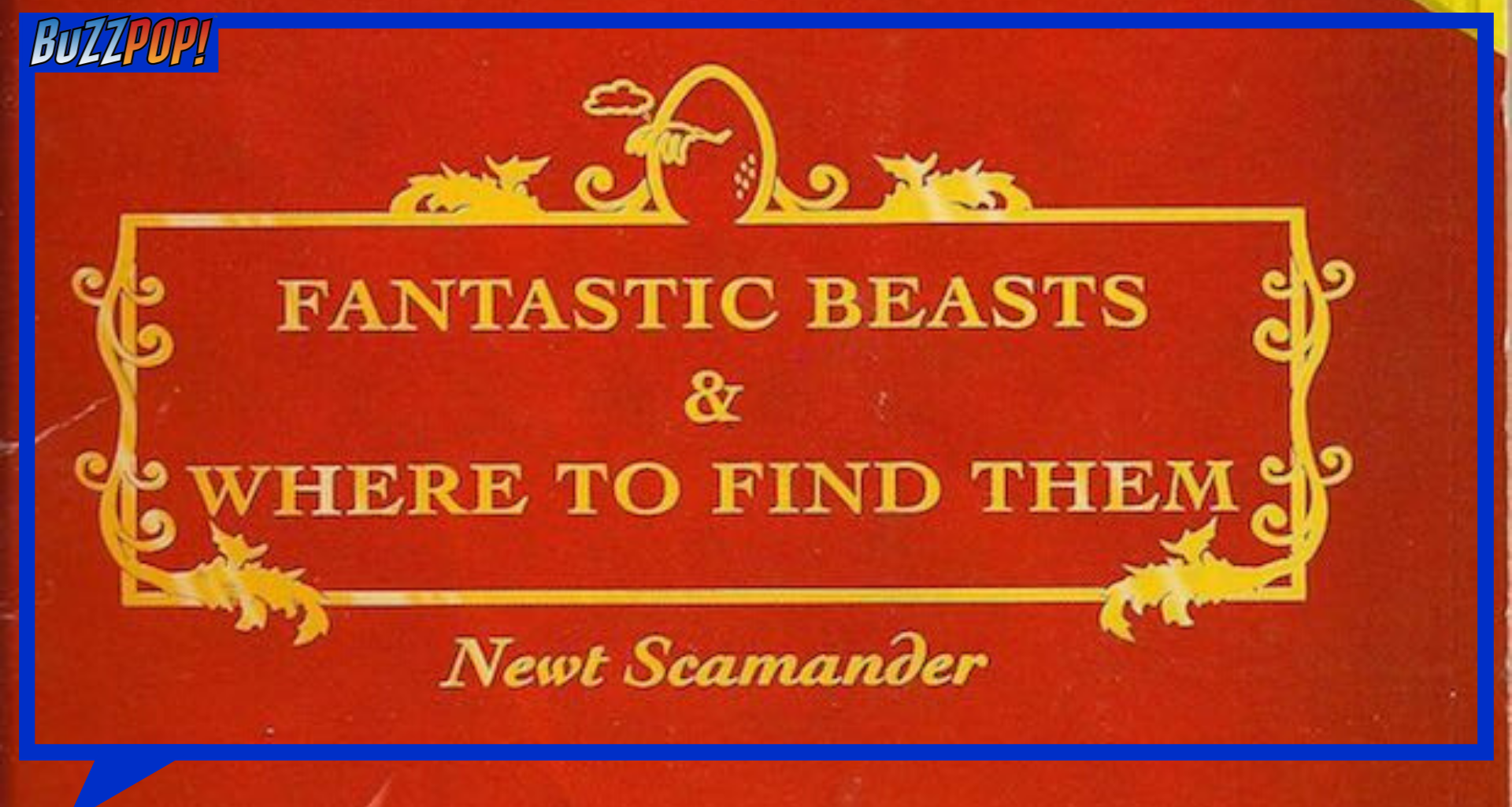 Buku teks FANTASTIC BEASTS AND WHERE TO FIND THEM