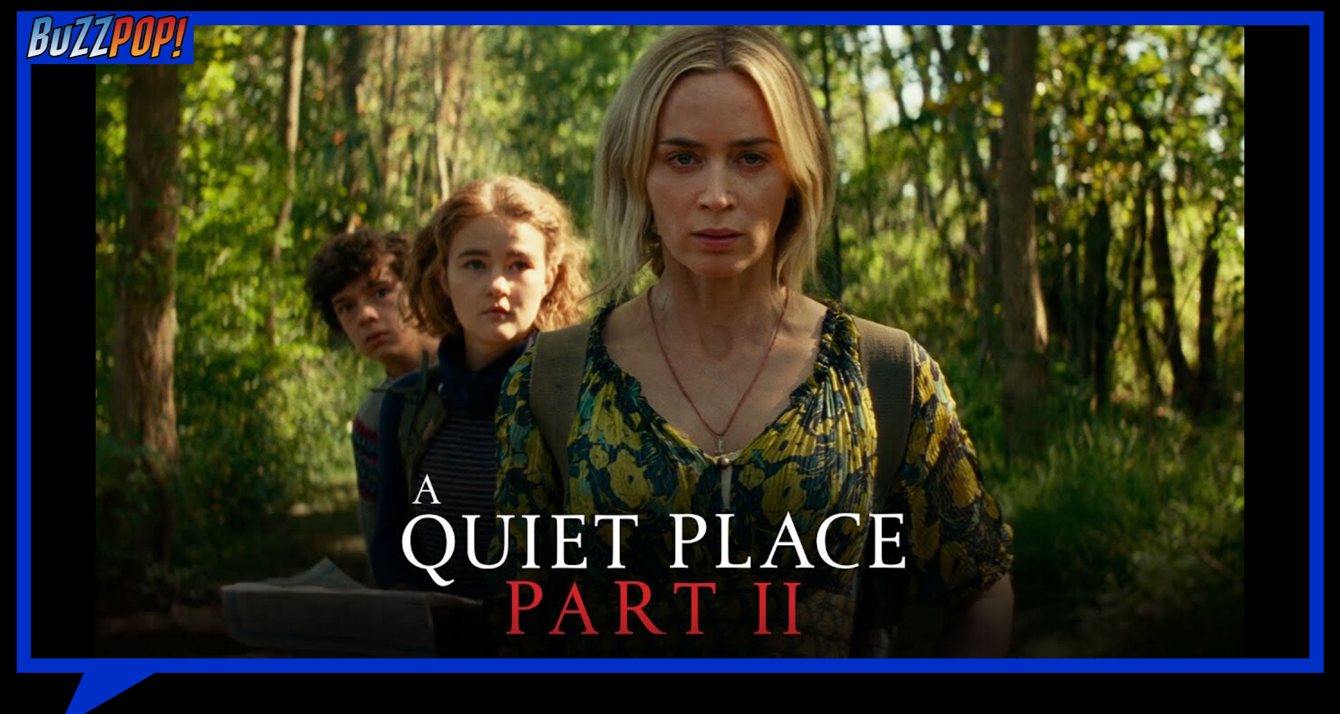 Banner Poster A QUIET PLACE PART II