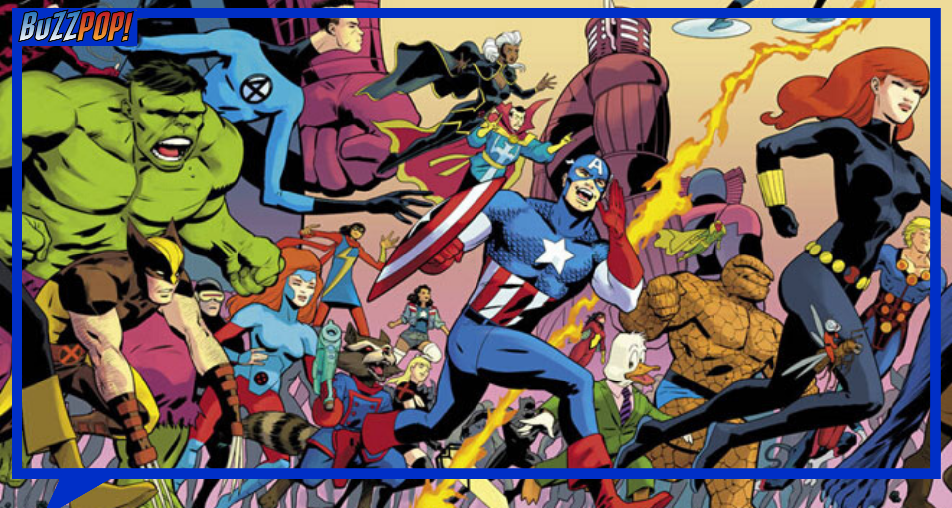 Banner HISTORY OF THE MARVEL UNIVERSE Treasury Edition