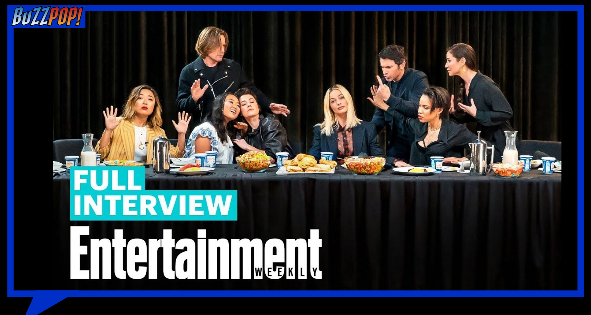 Entertainment Weekly Roundtable - HARLEY QUINN: BIRDS OF PREY