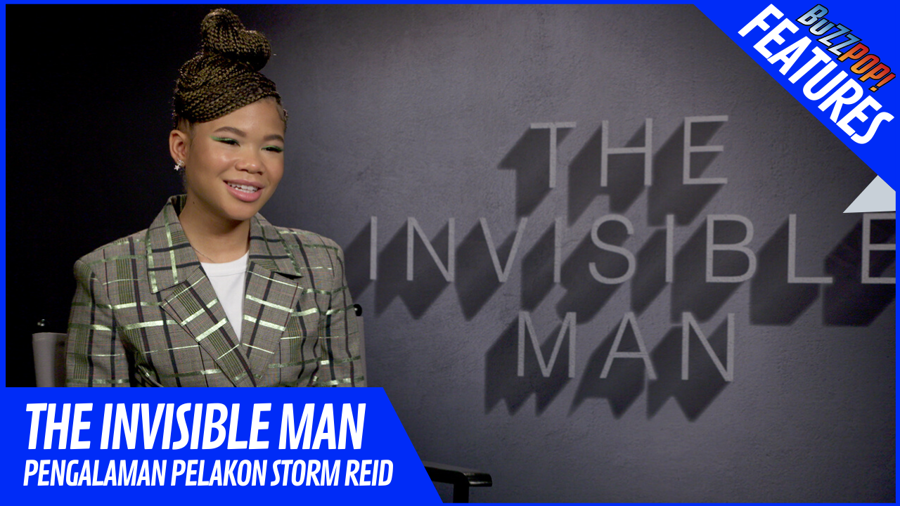 Features THE INVISIBLE MAN Storm Reid Interview