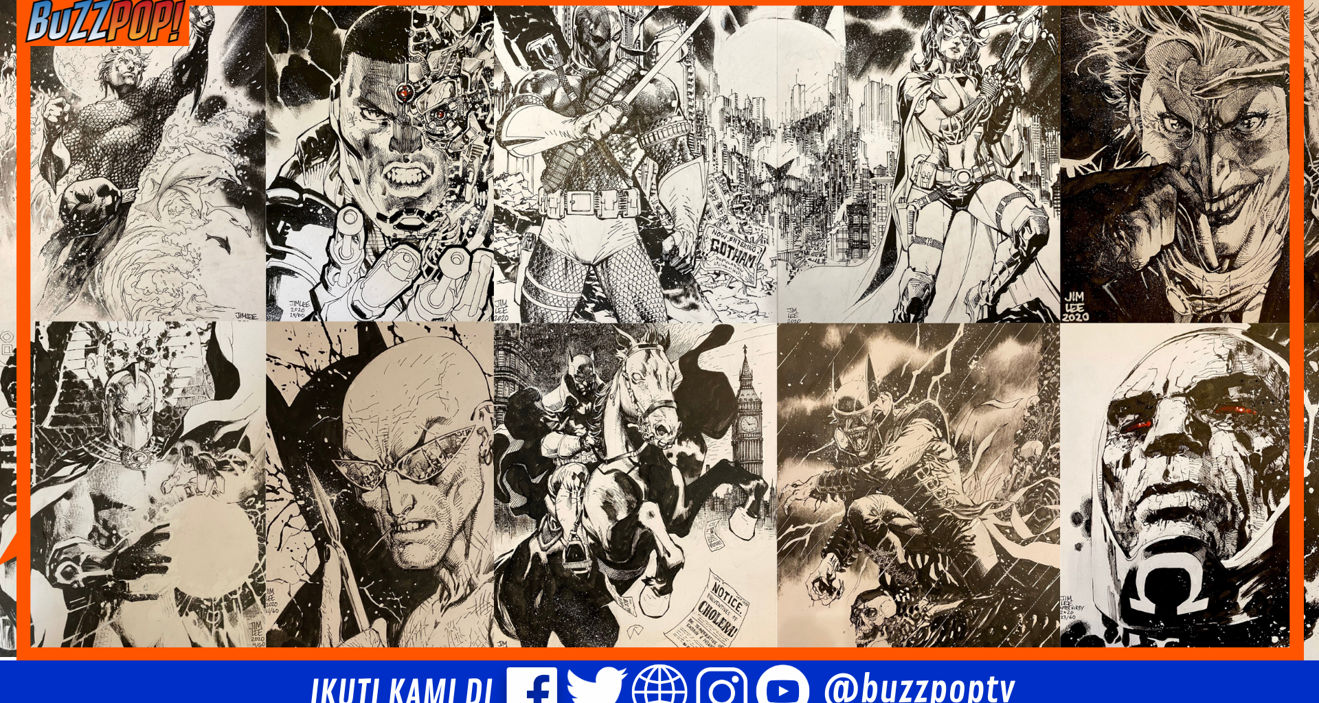 Jim Lee Comicbook United Fund