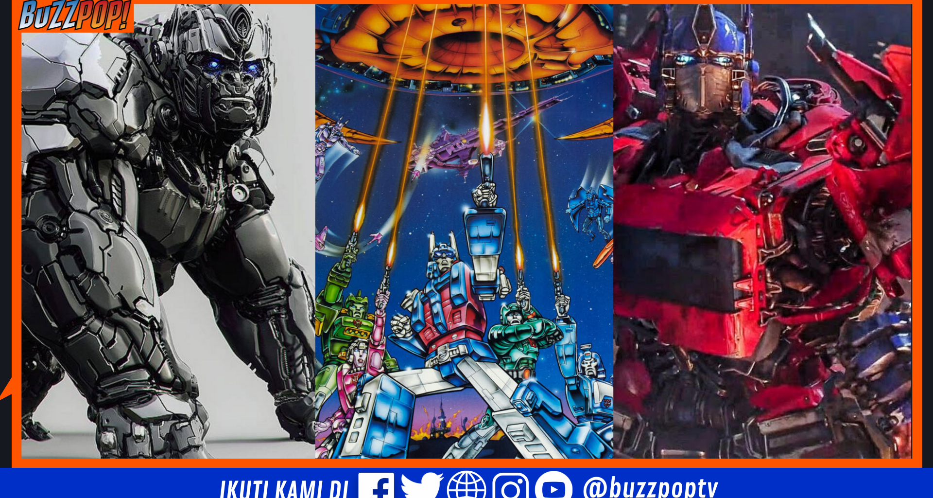 TRANSFORMERS Paramount Pictures 2022