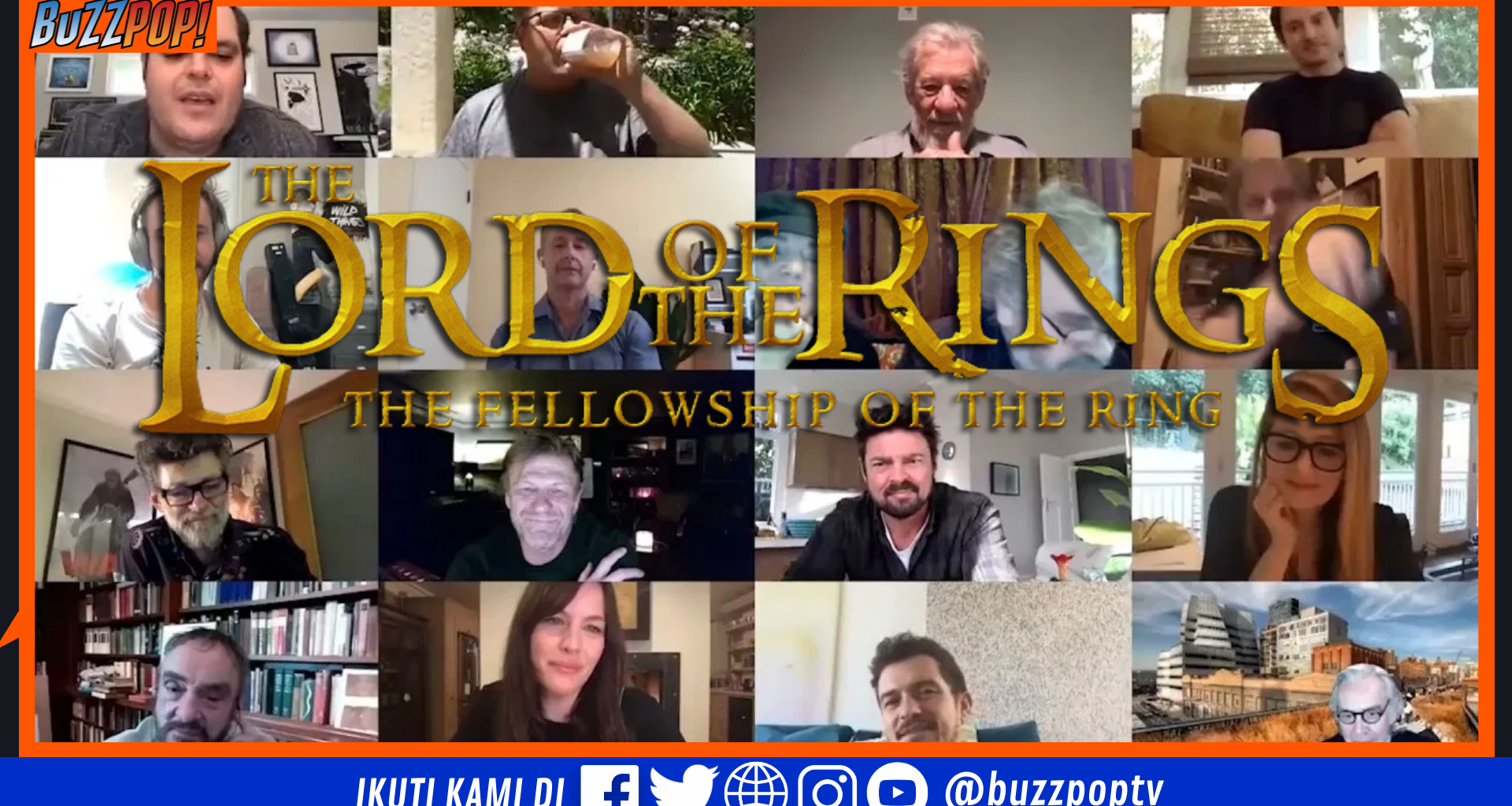 Reunited Apart THE LORD OF THE RINGS Cast Reunion
