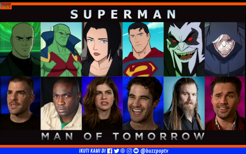 DC Animation SUPERMAN: MAN OF TOMORROW (2020)